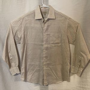 Tommy Bahama 16 Button Down Shirt Checkered 199